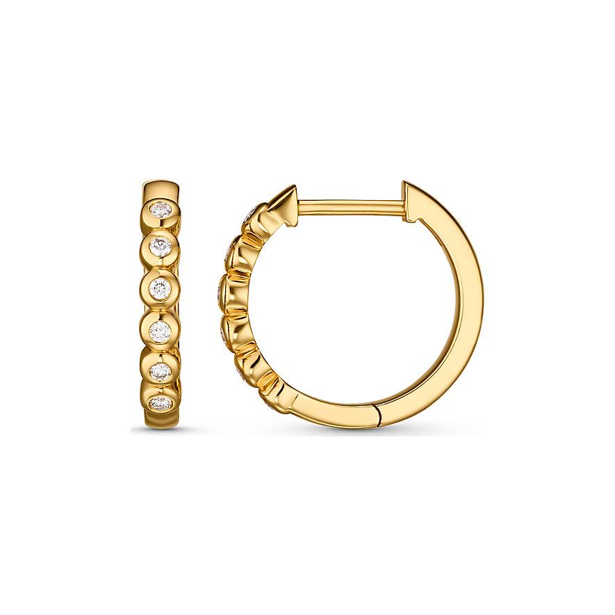 CHRIST Diamonds Creolen 87993761