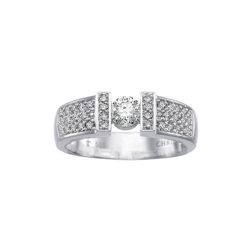 CHRIST Diamonds Damenring 60044627