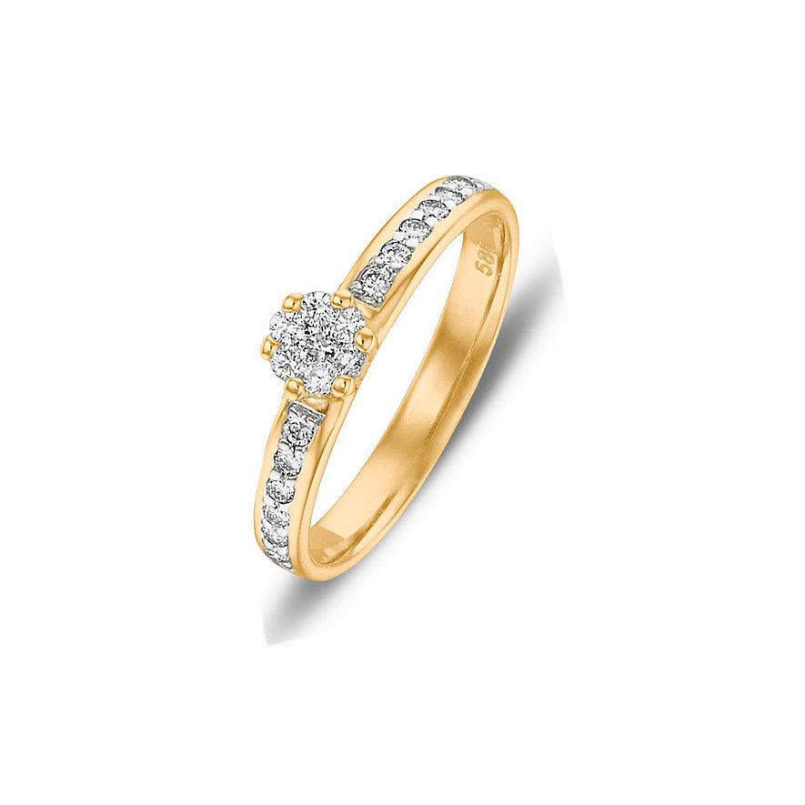 CHRIST Diamonds Damenring 85346393