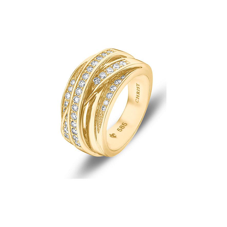 CHRIST Diamonds Damenring 86231336
