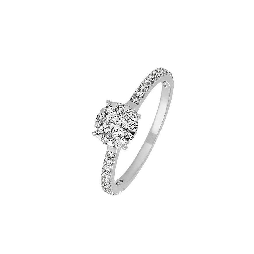Artikel klicken und genauer betrachten! - CHRIST Diamonds Damenring 86331683   im Online Shop kaufen
