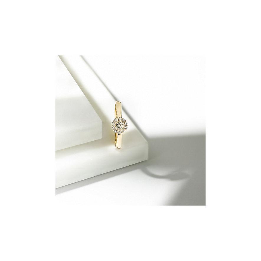 CHRIST Diamonds Damenring 86470101