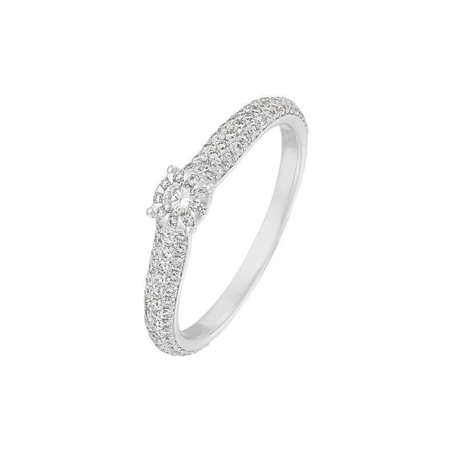 CHRIST Diamonds Damenring 86639483