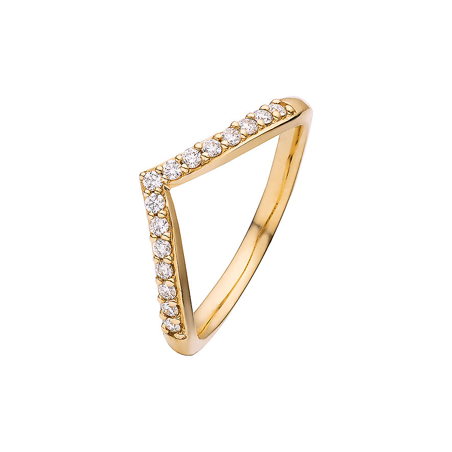 CHRIST Diamonds Damenring 86784262