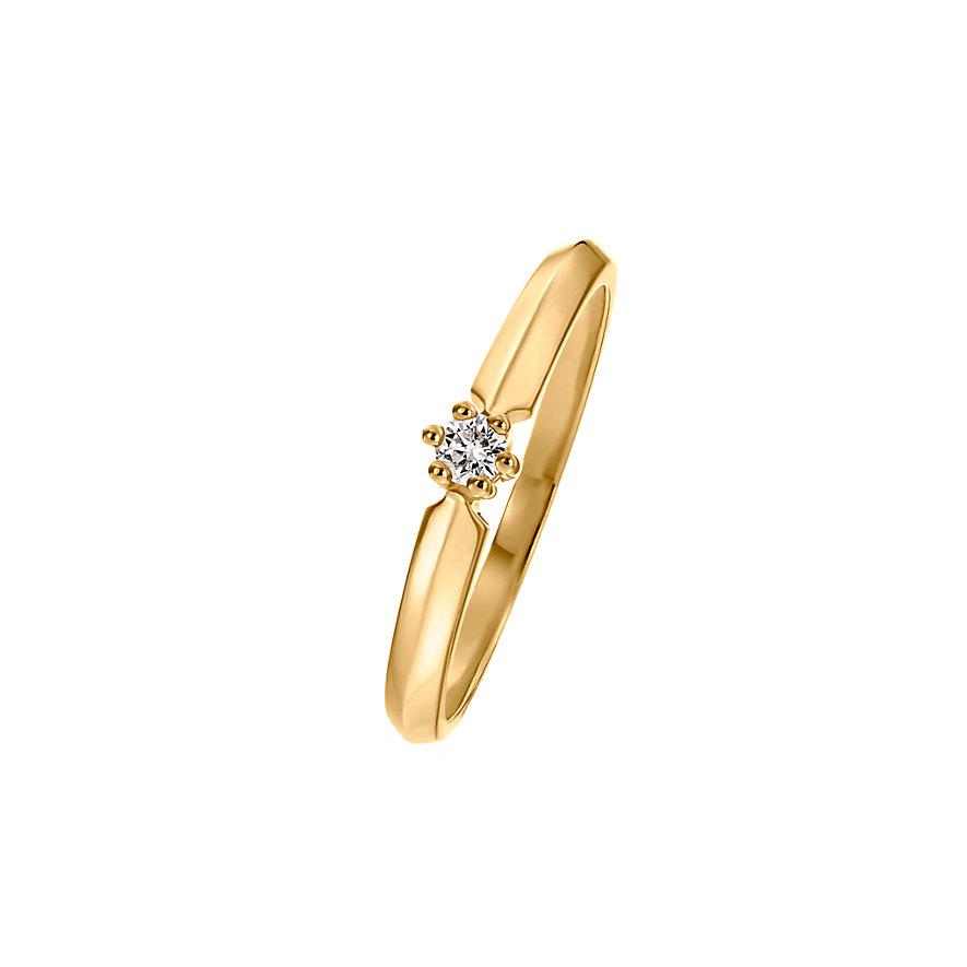 CHRIST Diamonds Damenring 87375293