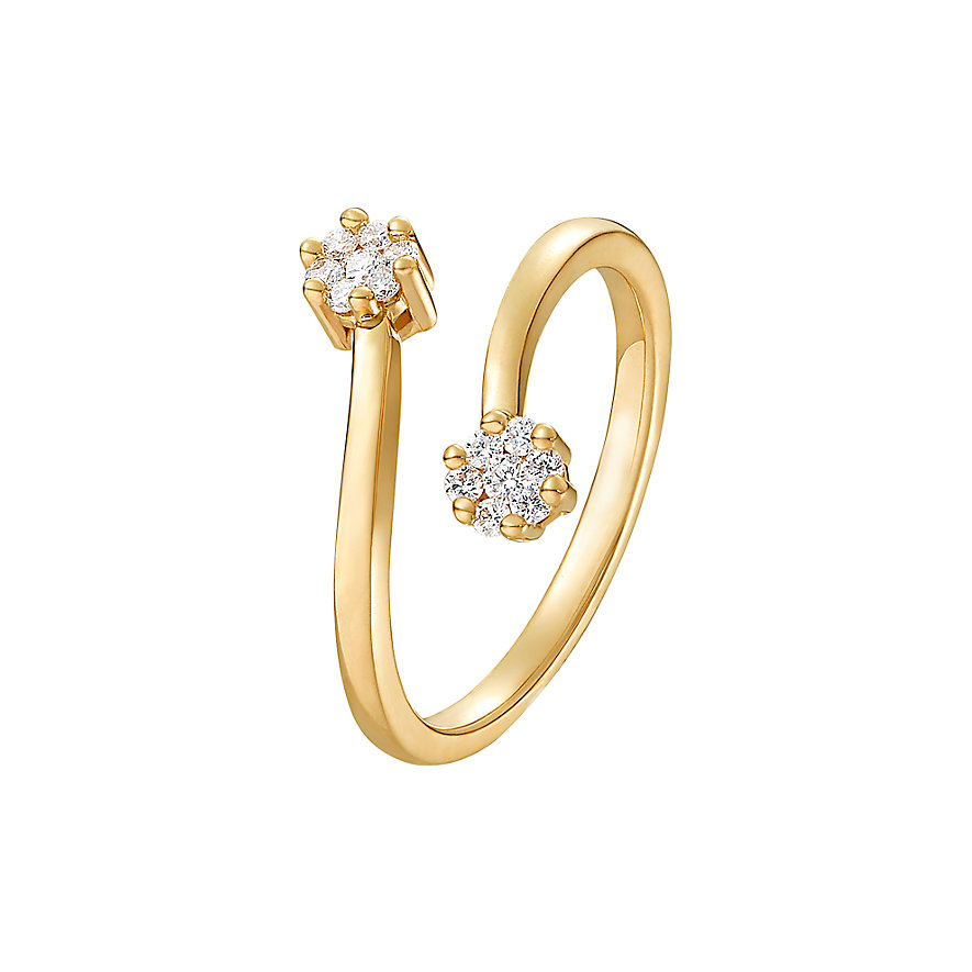 CHRIST Diamonds Damenring 87489019