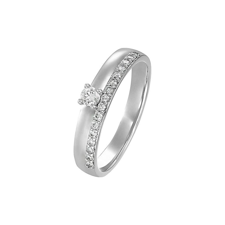 CHRIST Diamonds Damenring 87489124
