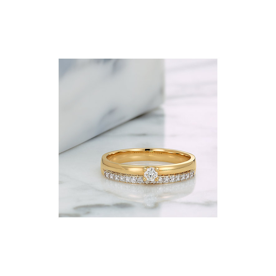 CHRIST Diamonds Damenring 87489183