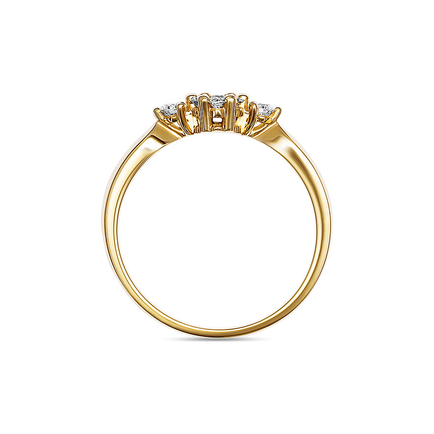 CHRIST Diamonds Damenring 87728641