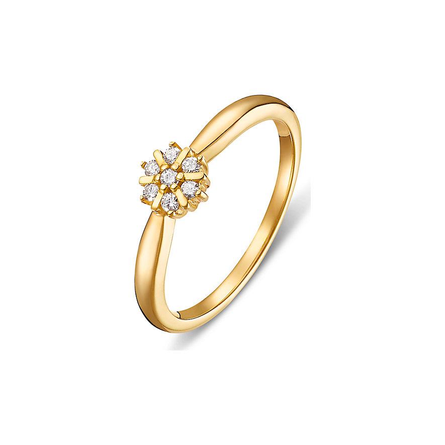CHRIST Diamonds Damenring Christ Diamant 375
