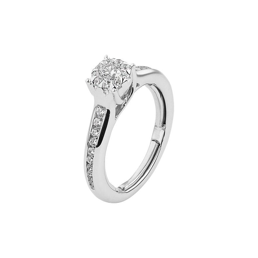 CHRIST Diamonds Damenring Facet 87354911