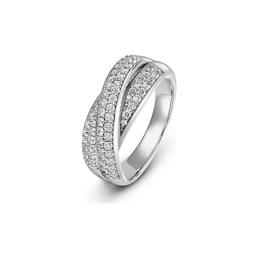 CHRIST Diamonds Damenring Highlightring 87715221