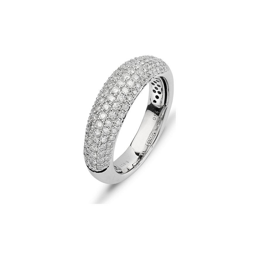 CHRIST Diamonds Facet Damenring 87353222