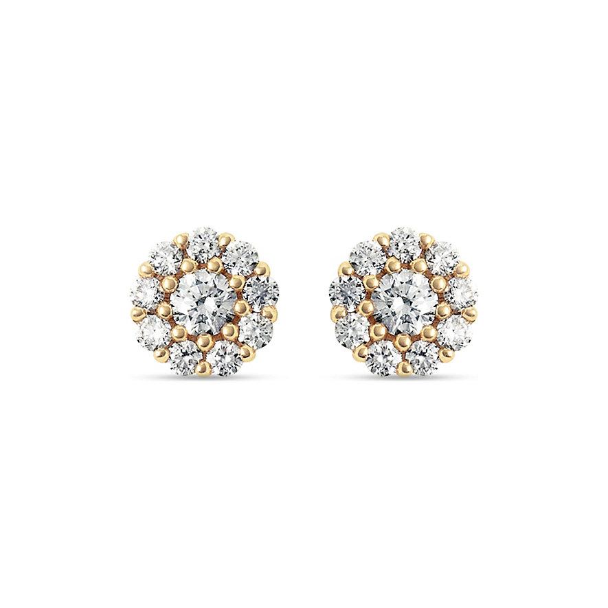 CHRIST Diamonds Ohrstecker 87716155