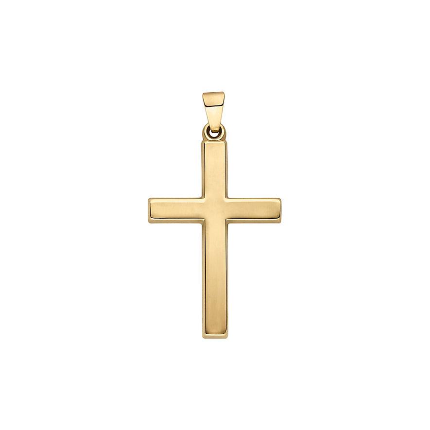 CHRIST Gold Kreuzanhänger 86841746