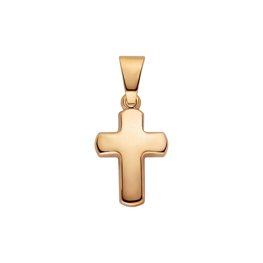 CHRIST Gold Kreuzanhänger 86841762