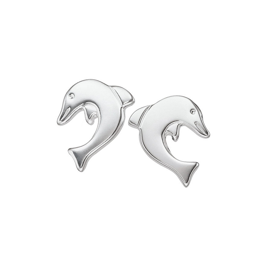 CHRIST Kinderohrringe Delfine