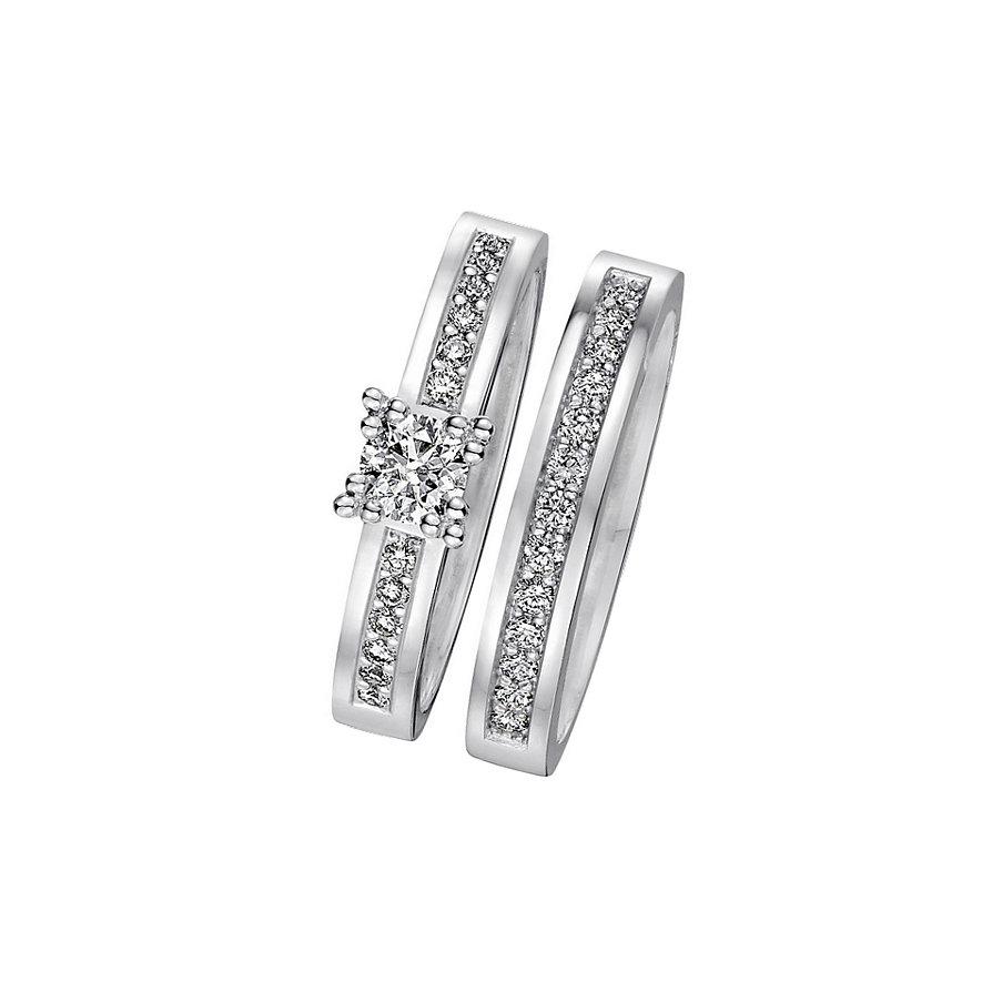 CHRIST Love Diamonds Damenring-Set 60036071