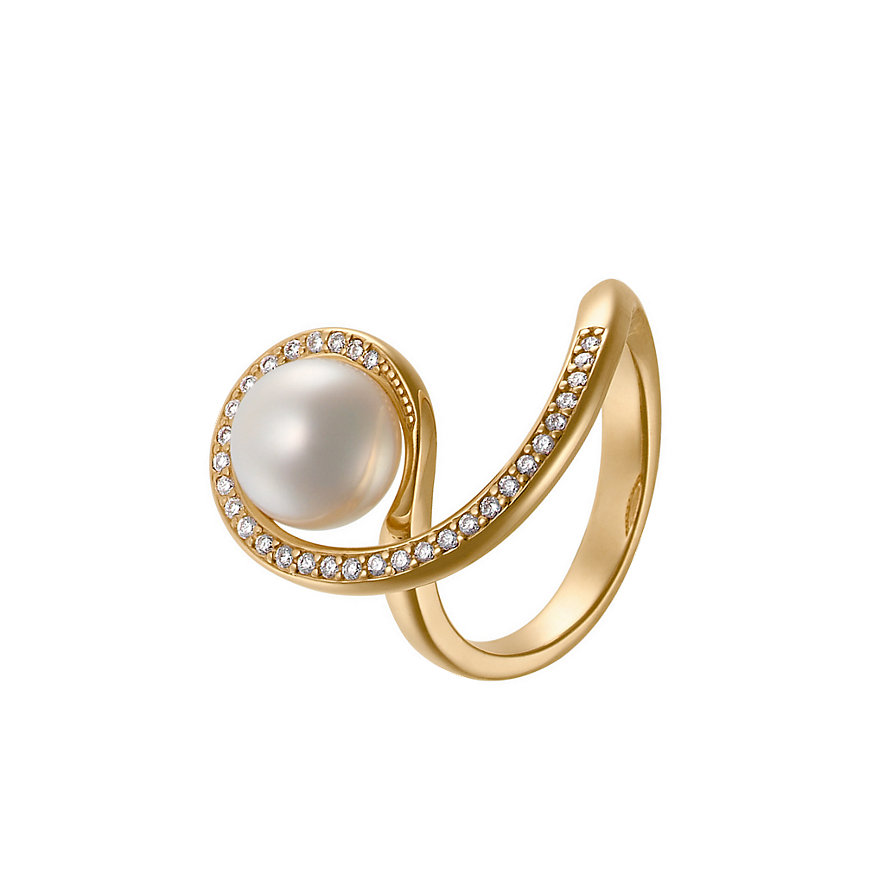 CHRIST Pearls Damenring 60054142