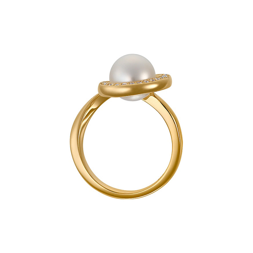 CHRIST Pearls Damenring 60054142