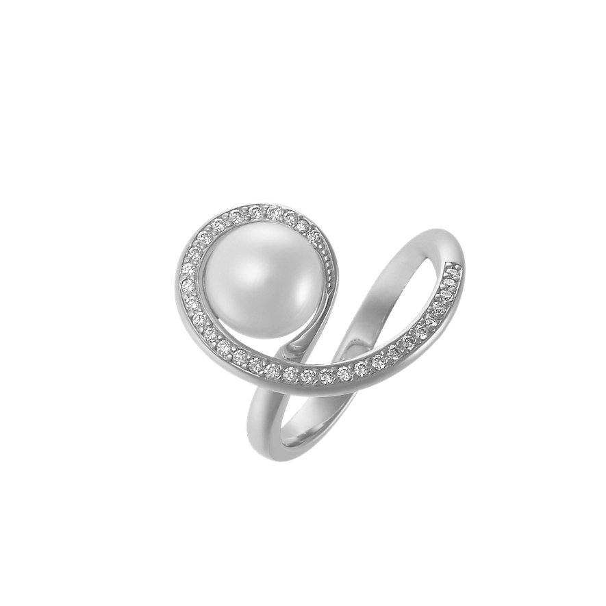CHRIST Pearls Damenring 60054231