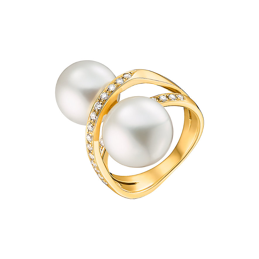 CHRIST Pearls Damenring 87306305