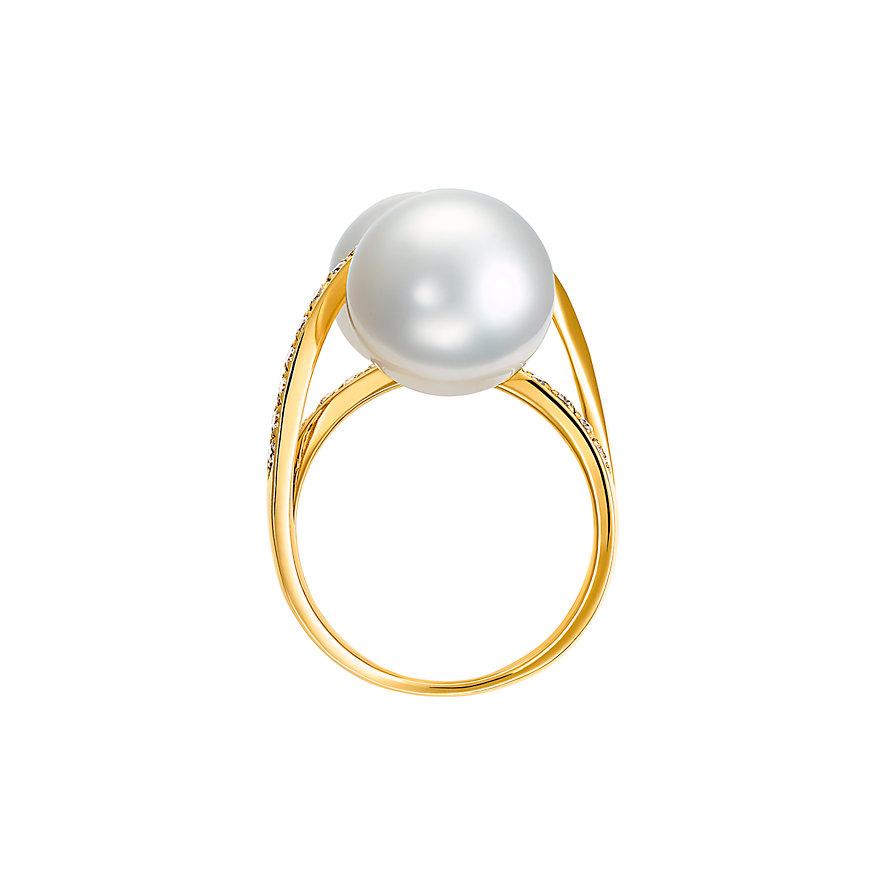 CHRIST Pearls Damenring 87306305
