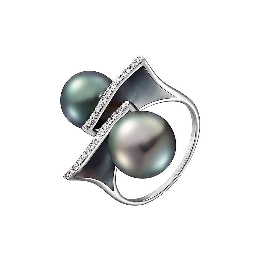 CHRIST Pearls Damenring 87306496