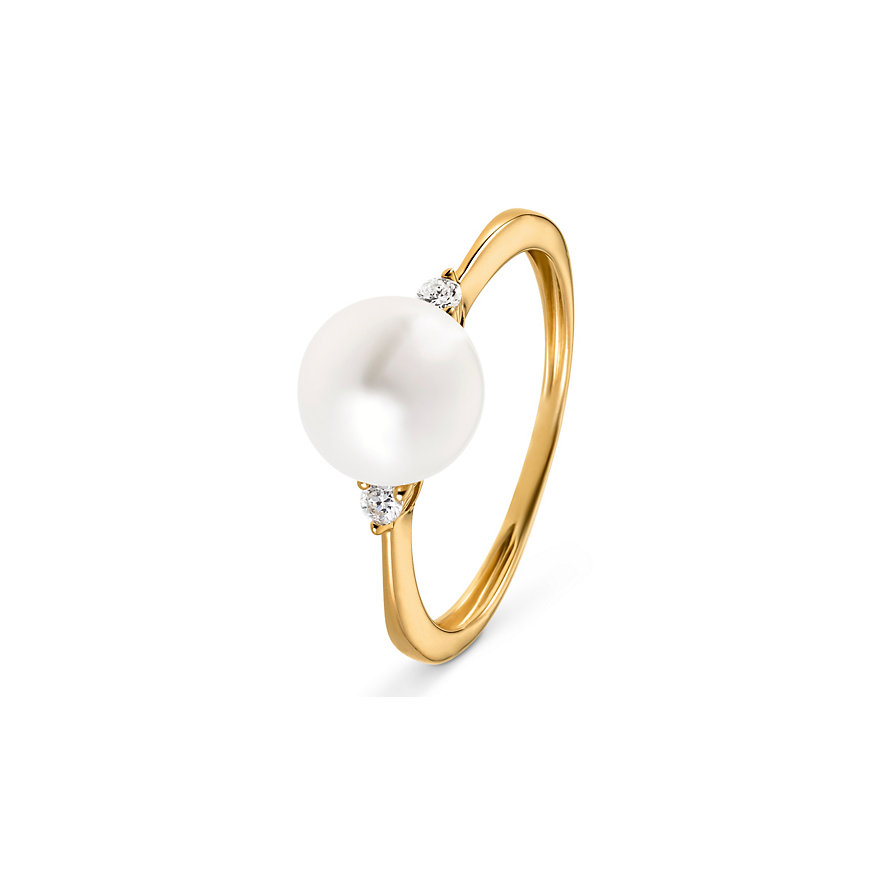 CHRIST Pearls Damenring 87481875