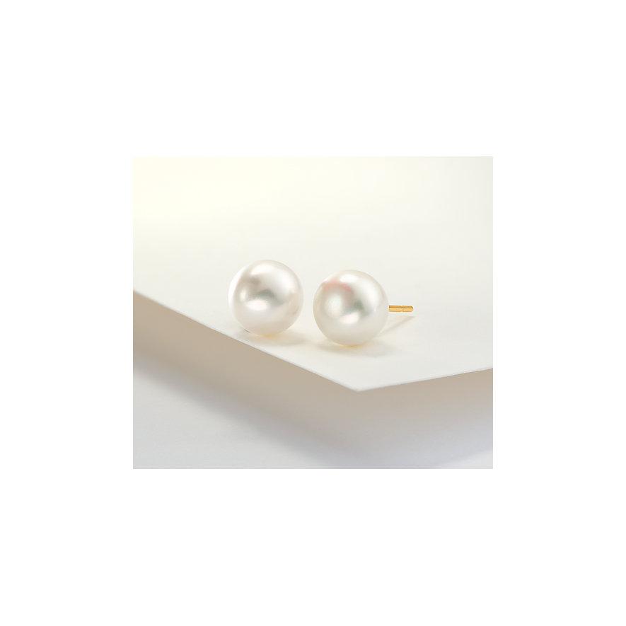 CHRIST Pearls Ohrstecker 8 - 8,5 87542947