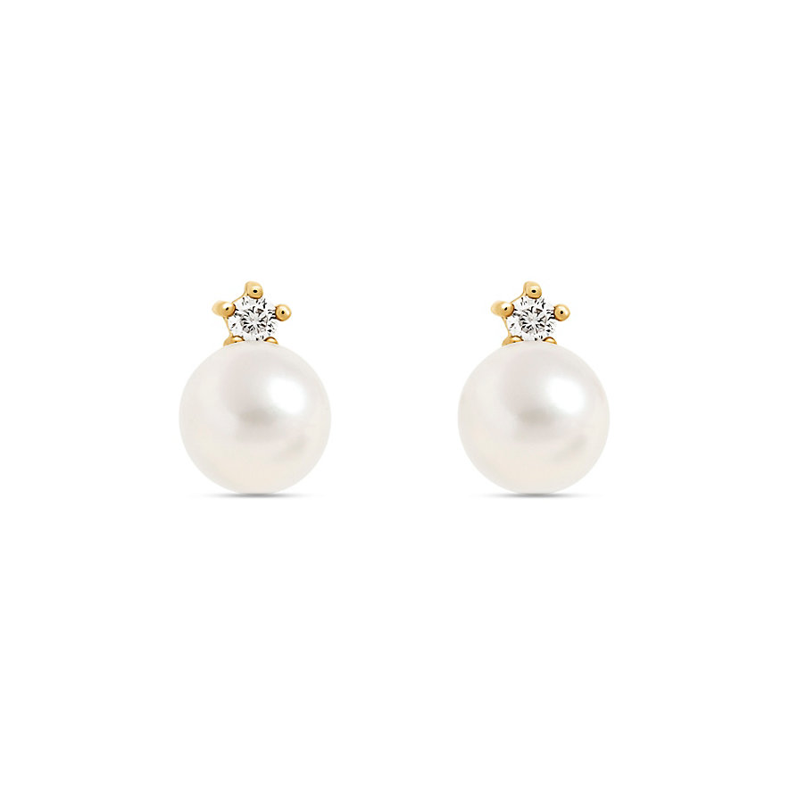 CHRIST Pearls Ohrstecker 87503925