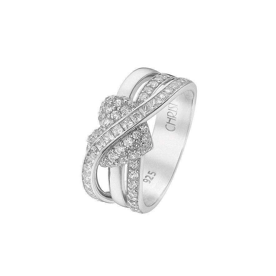CHRIST Silver Damenring 60046727