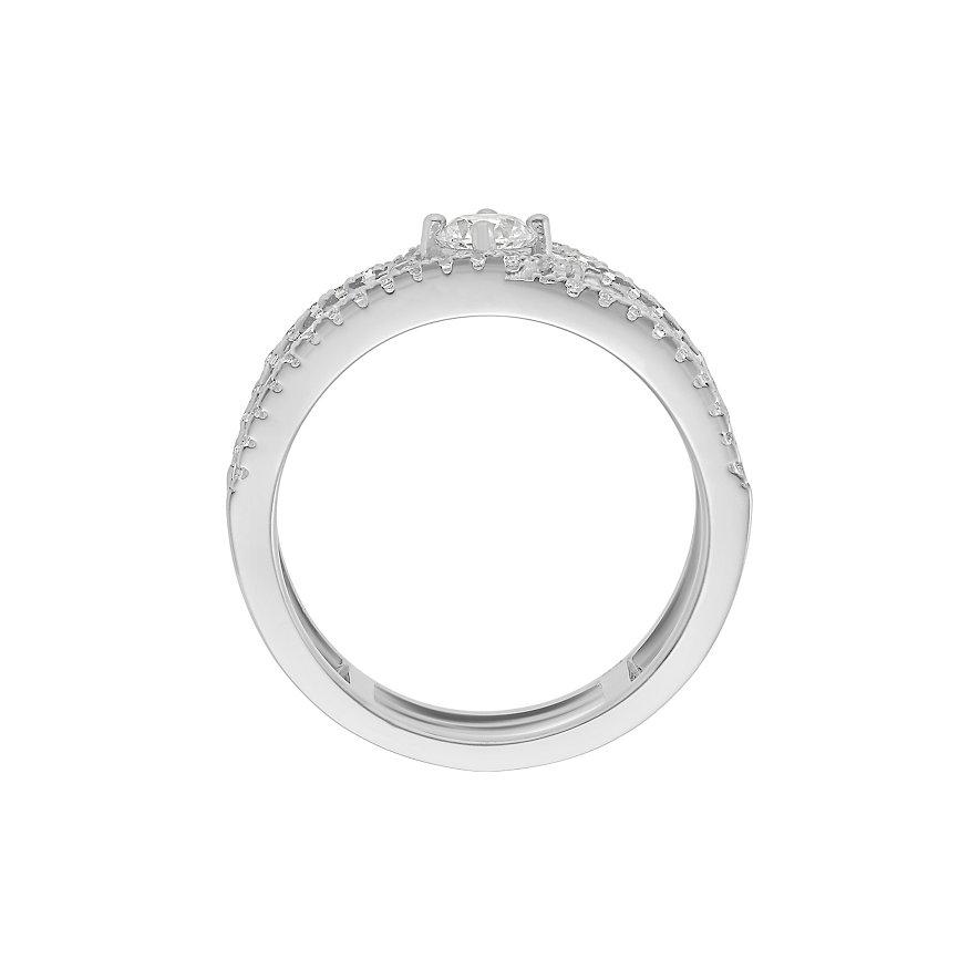 CHRIST Silver Damenring 86736802
