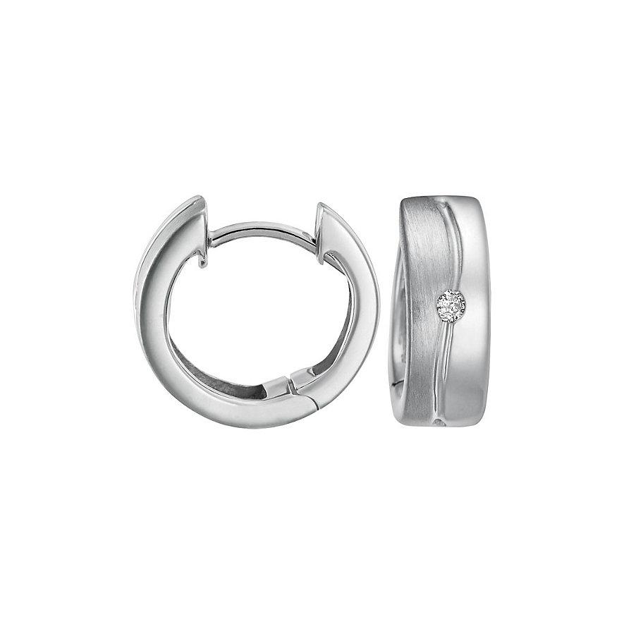 CHRIST Silver Diamonds Creole 87471381