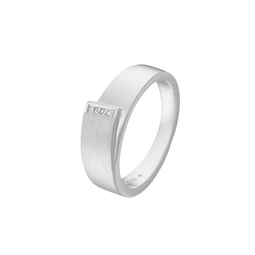 CHRIST Silver Diamonds Damenring 31200647