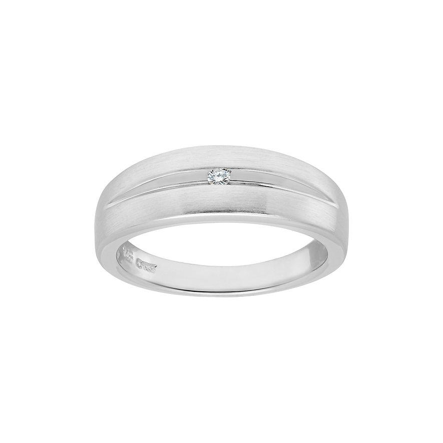 CHRIST Silver Diamonds Damenring 60033803