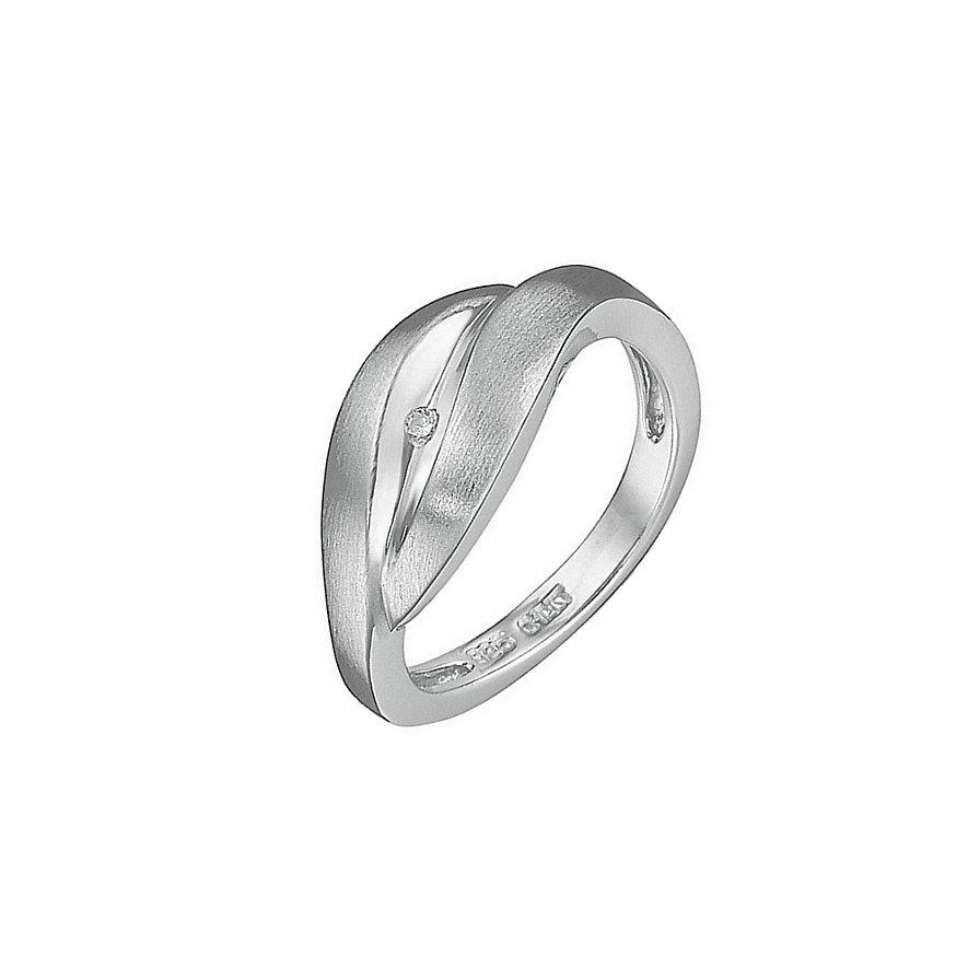 CHRIST Silver Diamonds Damenring 60033846