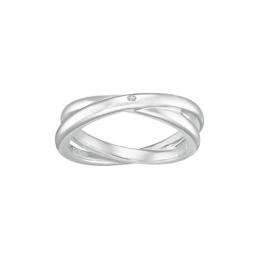 CHRIST Silver Diamonds Damenring 60033862