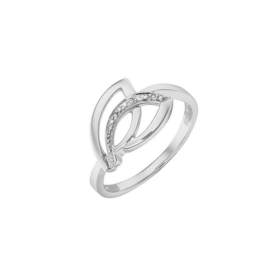 CHRIST Silver Diamonds Damenring 60043515