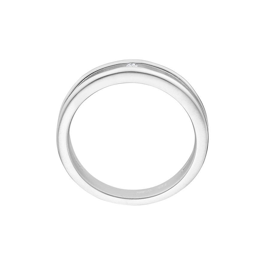 CHRIST Silver Diamonds Damenring 60050112
