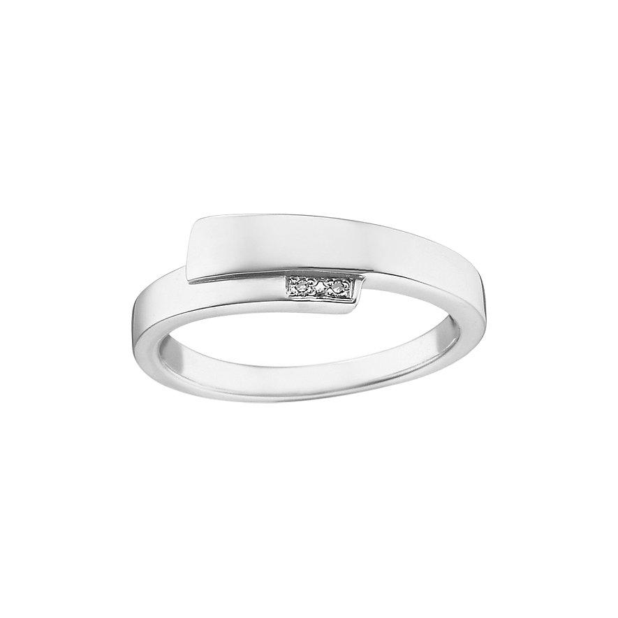 CHRIST Silver Diamonds Damenring 60050120