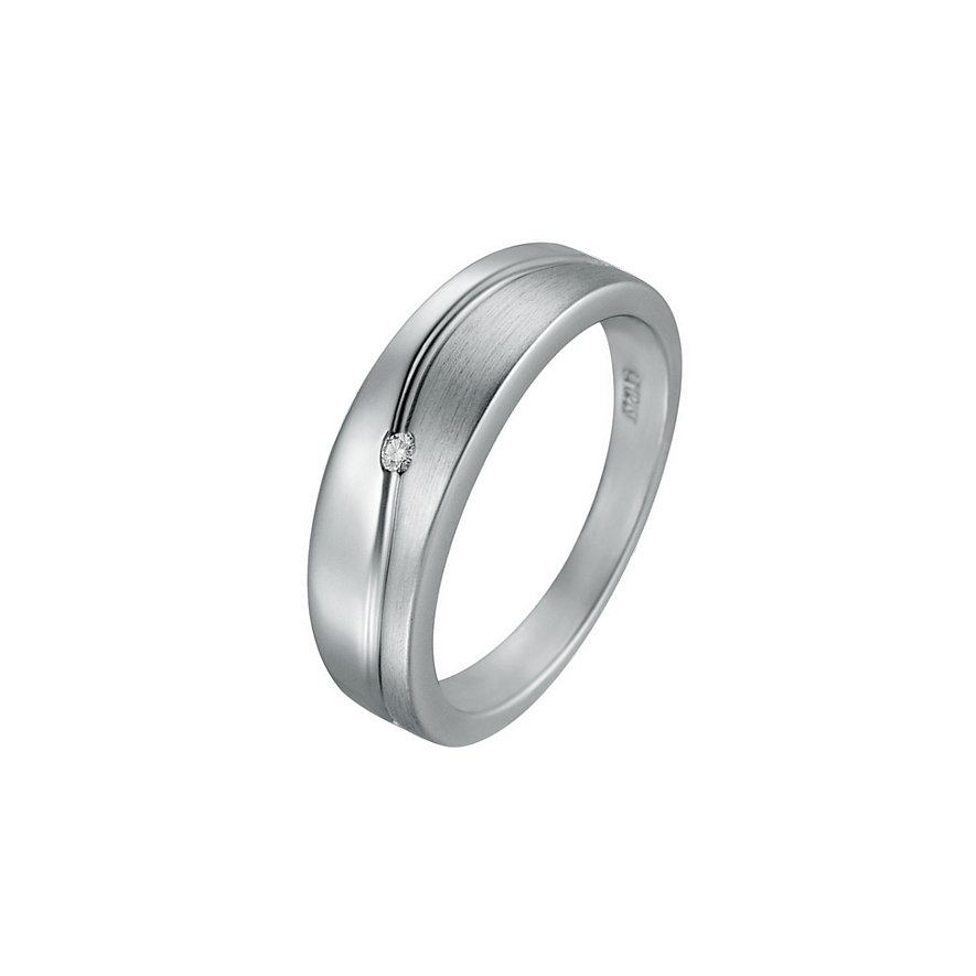 CHRIST Silver Diamonds Damenring 60056609