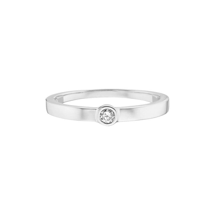 CHRIST Silver Diamonds Damenring 60060363