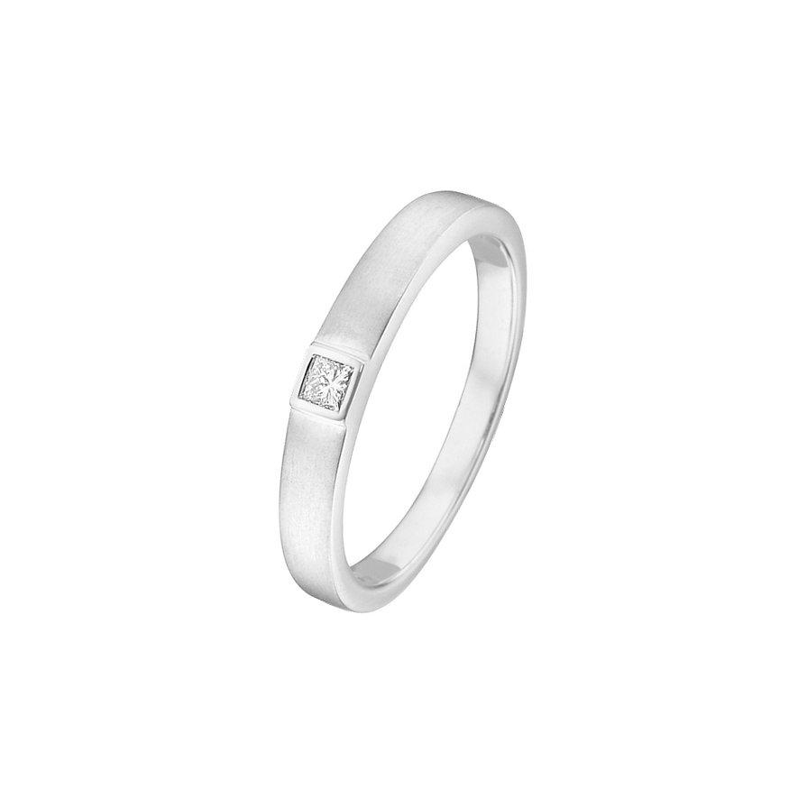 CHRIST Silver Diamonds Damenring 60060371