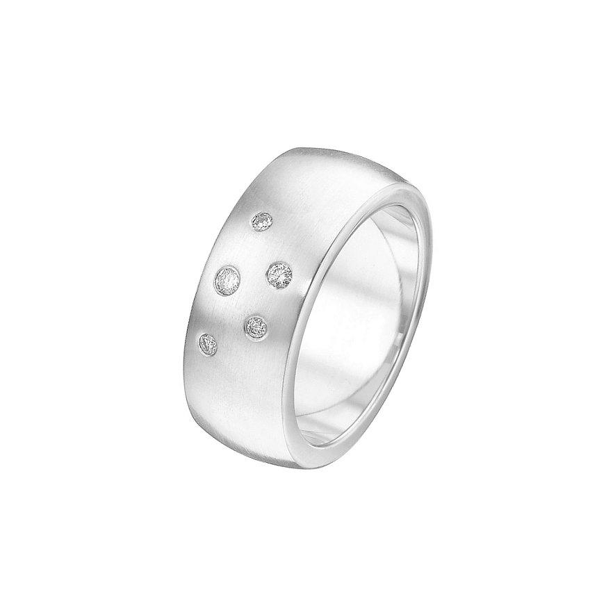 CHRIST Silver Diamonds Damenring 60060436