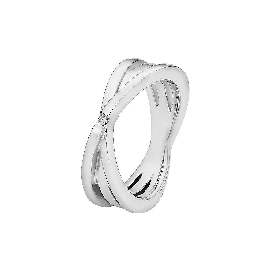 CHRIST Silver Diamonds Damenring 60079137