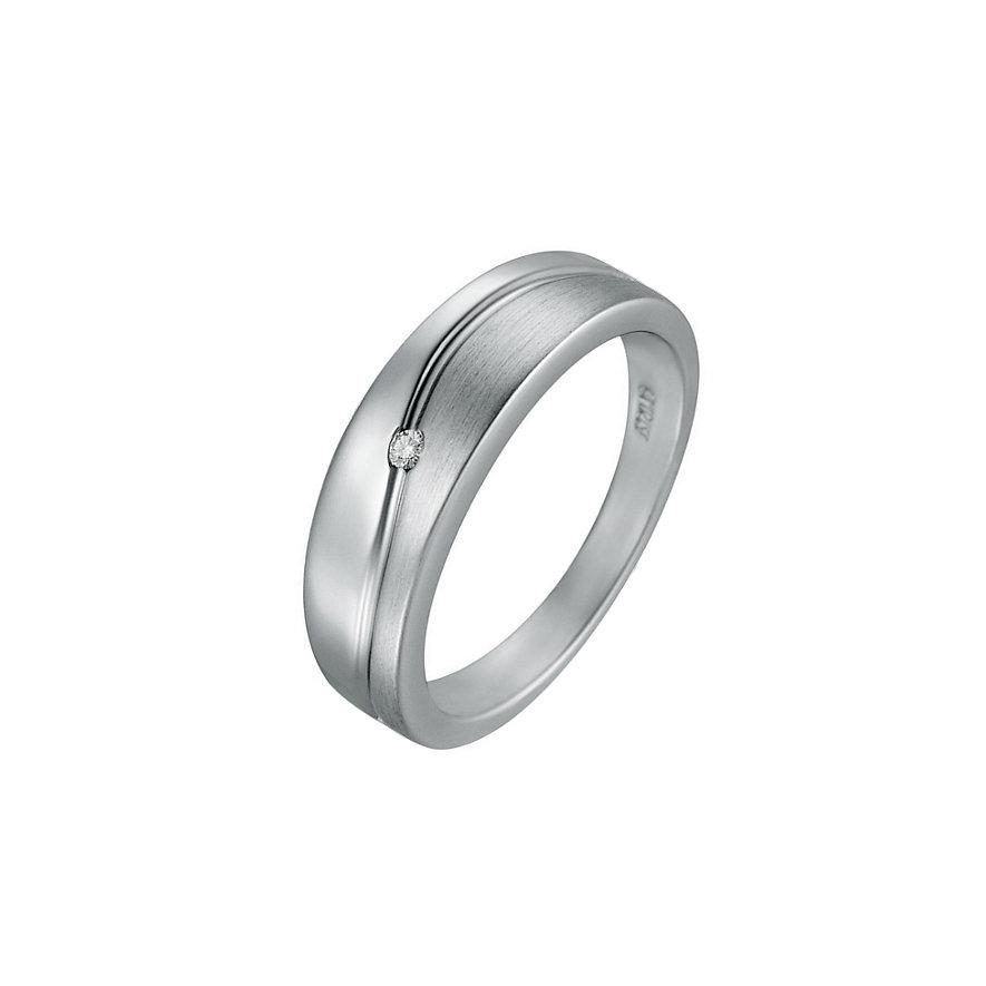 CHRIST Silver Diamonds Damenring 86044277