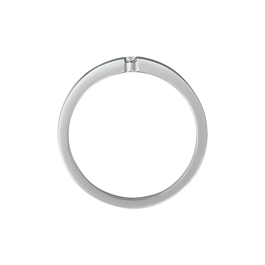 CHRIST Silver Diamonds Damenring 86252481