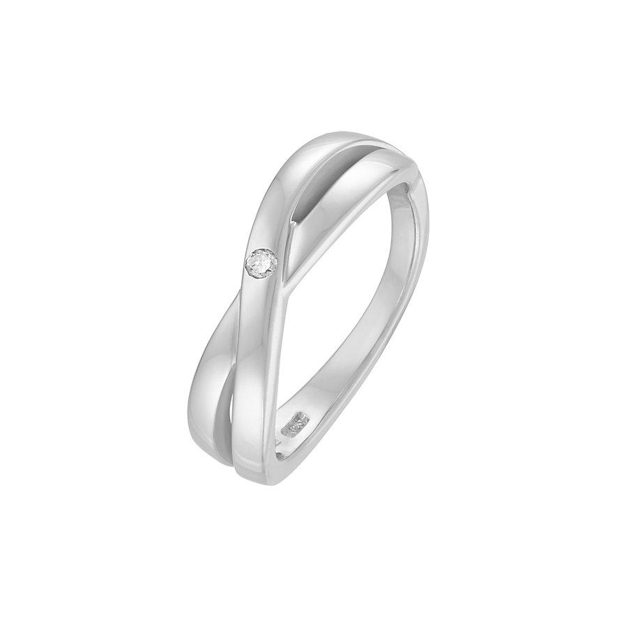 CHRIST Silver Diamonds Damenring 86353717