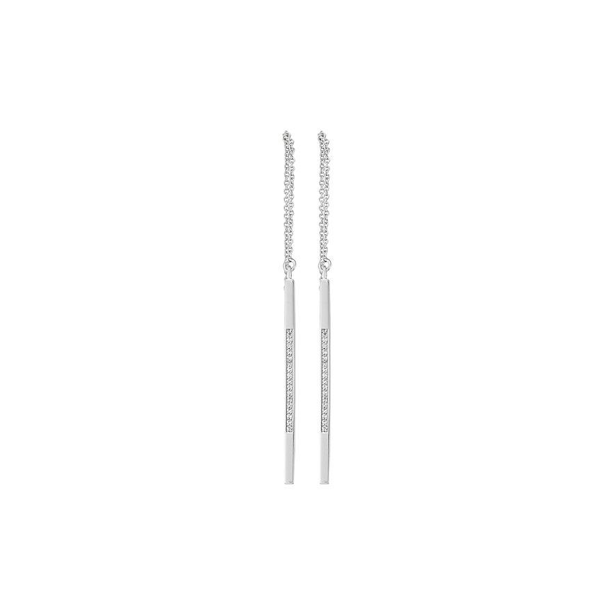 CHRIST Silver Ohrhänger Through & Through Earrings 86735512